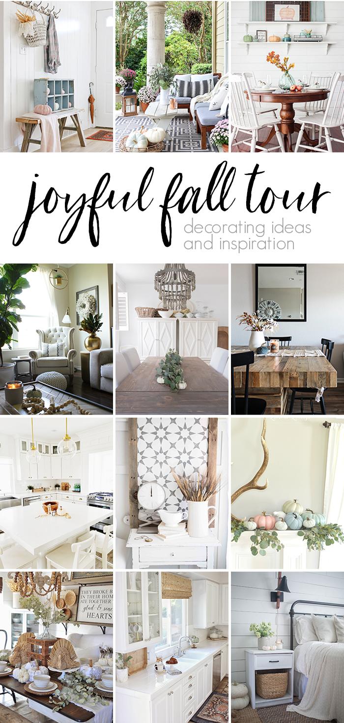 2017 Joyful Fall Tour Collage